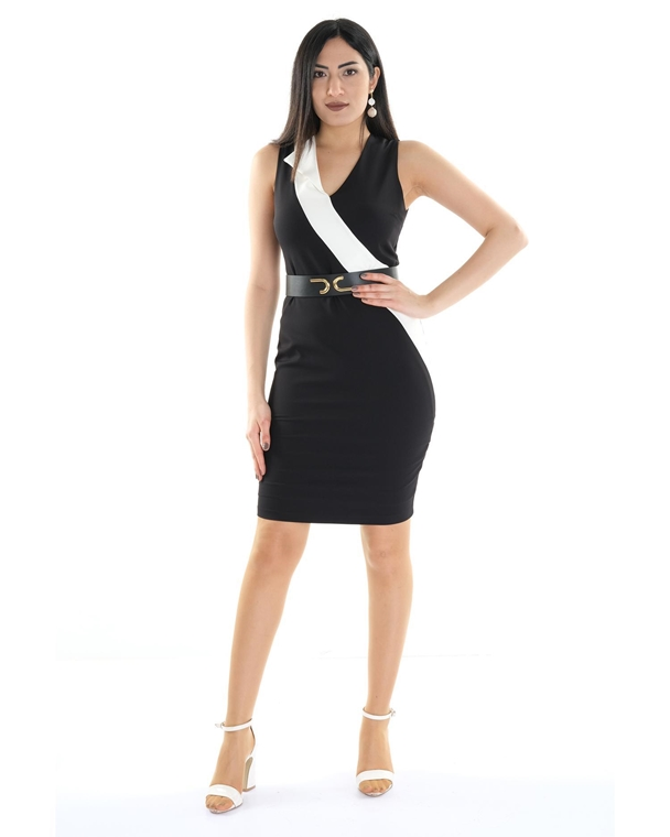 Two'e Mini Sleevless Casual Bodycon