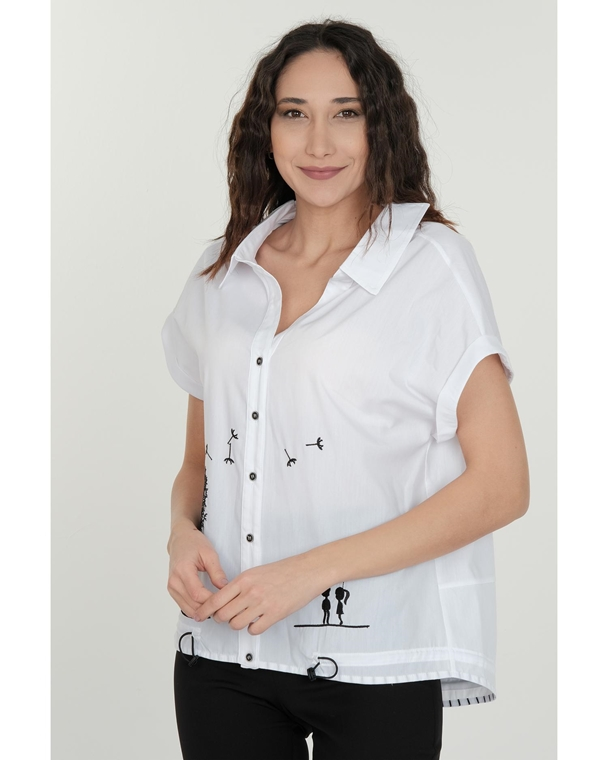Favori Short Sleeve Normal Neck Casual