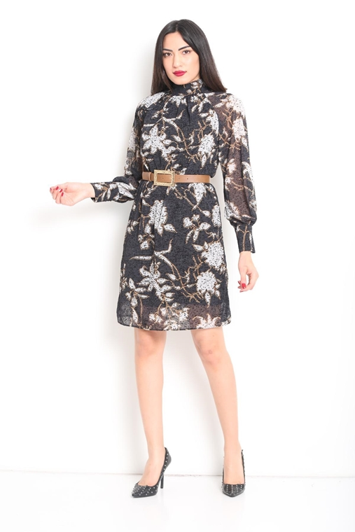Zola Knee Lenght Long Sleeve Casual Going Out Dresses