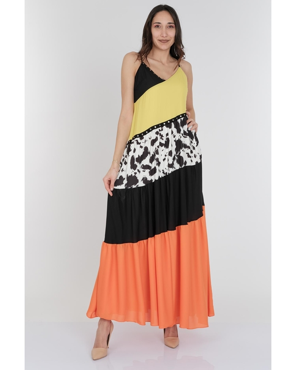 Mianotte Maxi Sleevless Casual Summer Dresses