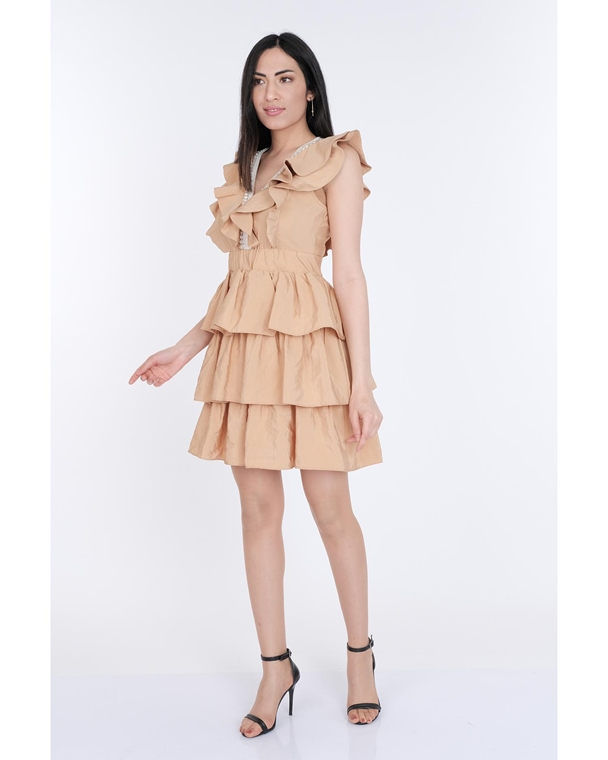 Mianotte Mini Sleevless Casual Summer Dresses