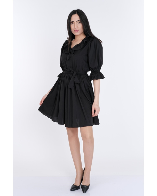 Pole & Pole Mini Three Quarter Sleeve Casual Summer Dresses