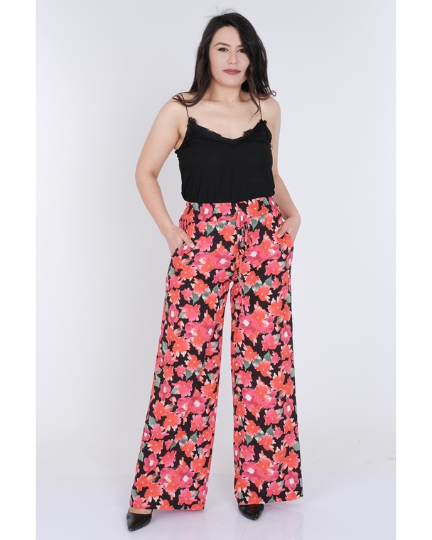 Pole & Pole High Waist Casual Trousers