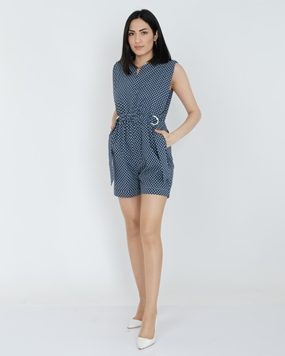 Green Country Casual Jumpsuits
