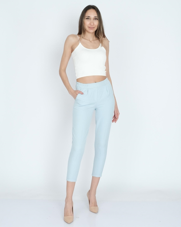 Nisan Low Rise Casual Trousers