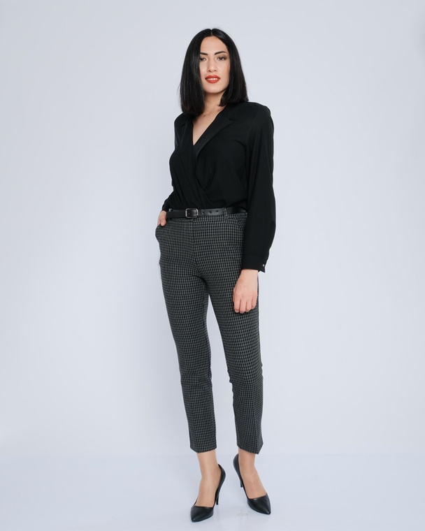 Fimore High Waist Casual Trousers