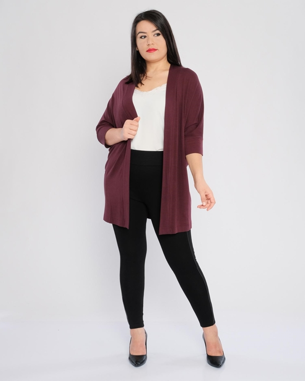Bluebelle Open-Ended Casual Cardigan