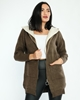 Parkhande Hooded Zipped Casual Cardigans