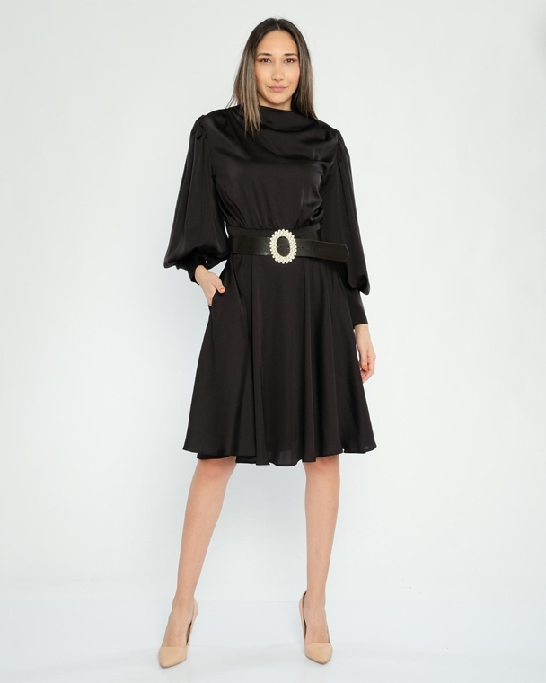 Lila Rose Knee Lenght Long Sleeve Casual Dresses