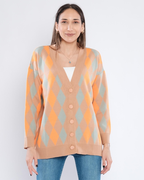 Avrile Buttoned Casual Cardigans