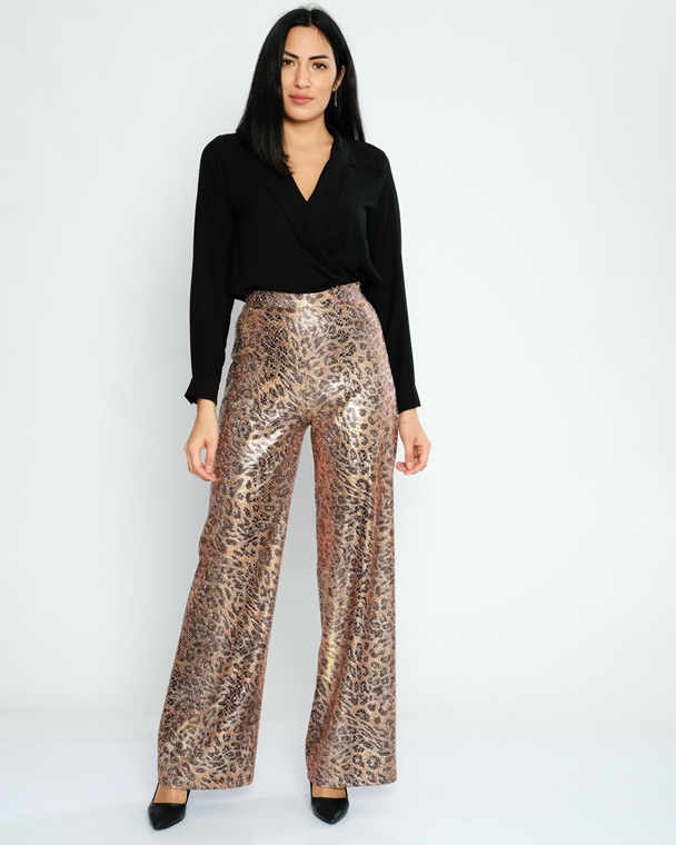 Airport High Waist Casual Trousers